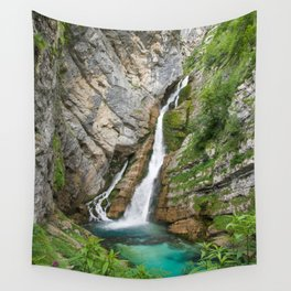 Savica Waterfall Photography Nature Wall Tapestry