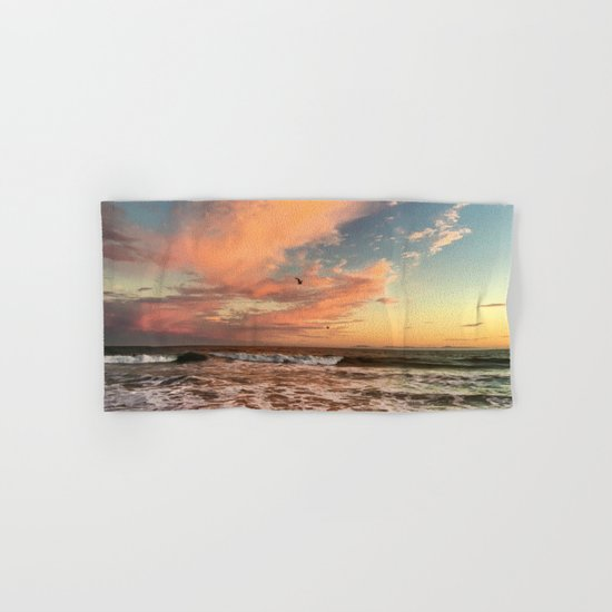 Cotton Candy Sunset Hand & Bath Towel