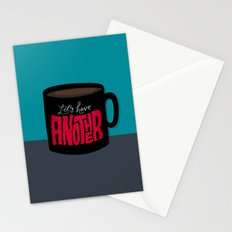 Let's Have Another Cup of Coffee Stationery Cards