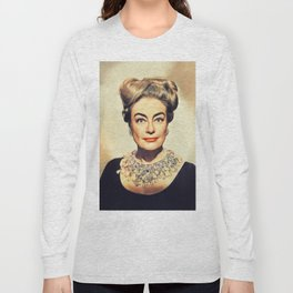 Joan Crawford, Hollywood Legend Long Sleeve T-shirt