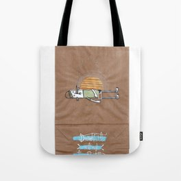 Drink it out of the bottle Tote Bag