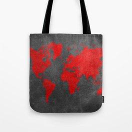World map 5 Tote Bag