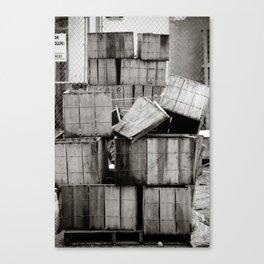 Stacks... Canvas Print