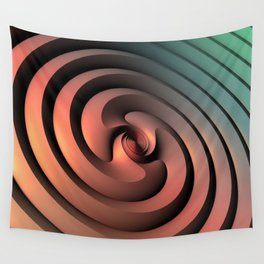 Spiraling One Wall Tapestry