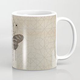 Sacred  Geometry  Zebra Longwing Butterfly Coffee Mug