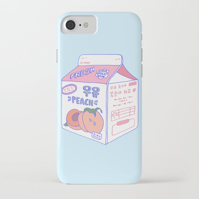 Peach Milk iPhone Case