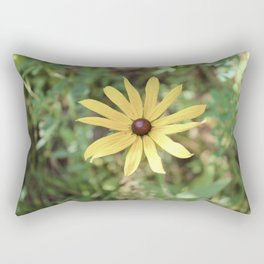 Vintage Yellow Flower Rectangular Pillow