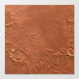 Mars Surface Canvas Print