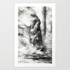 Winter Land Art Print