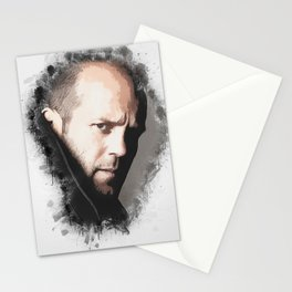 A Tribute to JASON STATHAM Stationery Cards
