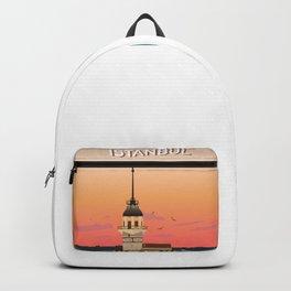 Istanbul Illustration Backpack