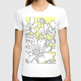 Flower Meadow Yellow T-shirt