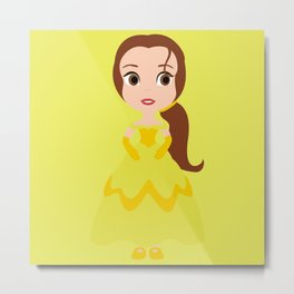 So Belle Metal Print