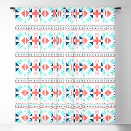 geometry navajo pattern Blackout Curtain