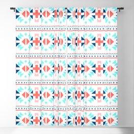 geometry navajo pattern Blackout Curtain