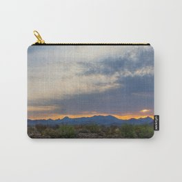 Big Bend Sunrise Carry-All Pouch