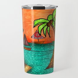 Orange Sky Bliss Travel Mug
