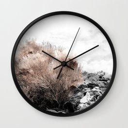 Red Sage Wall Clock