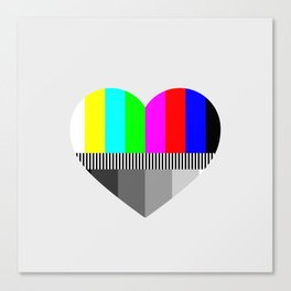 A Test of Love Canvas Print