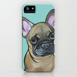 Armand the Frenchie Pup iPhone Case