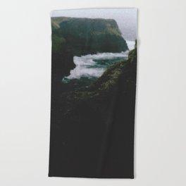 Analogue Cliffs Beach Towel