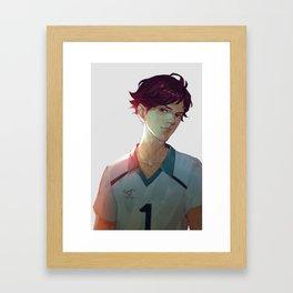 Bitchy Oikawa Framed Art Print