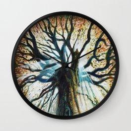 Glory Oak Wall Clock