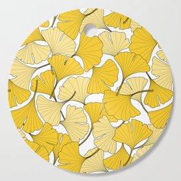 ginkgo leaves (yellow) Cutting Board