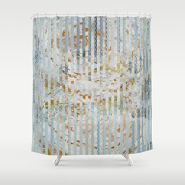Gold roses Shower Curtain