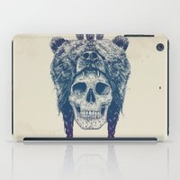 dead iPad Cases featuring Dead shaman by Balazs Solti