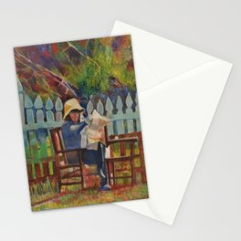 Chillin in the Gardin Stationery Cards