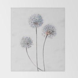 Dandelion 2 Throw Blanket