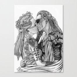 Clexa Wedding Canvas Print