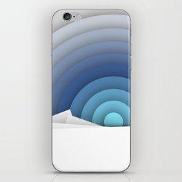 Arctic Sunset iPhone Skin