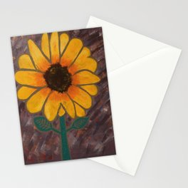 Sun Flower Reign Stationery Cards