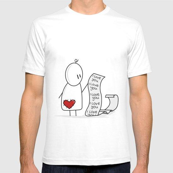 I Love You... A Lot. T-shirt