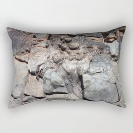 Stone Stories Rectangular Pillow