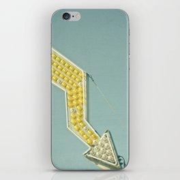 Golden Arrow iPhone Skin