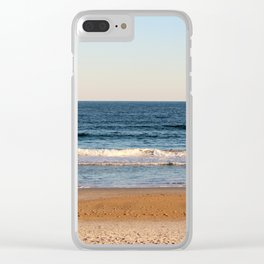 Along The Shore 2 Clear iPhone Case