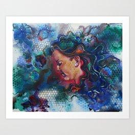 Repressed  Art Print