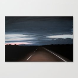 Into Darkness Canvas Print