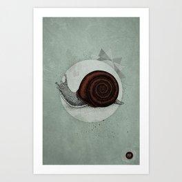 Escargö Art Print