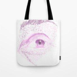 Male Abstract Eye Tote Bag