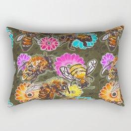 BeeUtiful Spring Rectangular Pillow