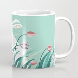 Rabbit, Resting Coffee Mug