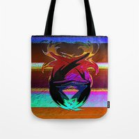 "wings Tote Bags featuring "" Wings ""  by shiva camille"