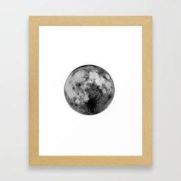 brightside moon Framed Art Print