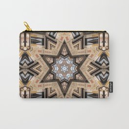 Architectural Star of David Carry-All Pouch