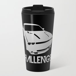 Dodge Challenger - silver - Travel Mug