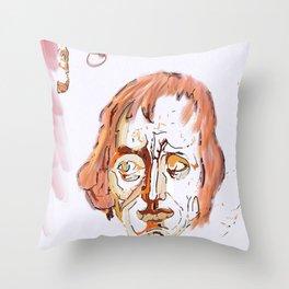 Mozart & Salieri Throw Pillow